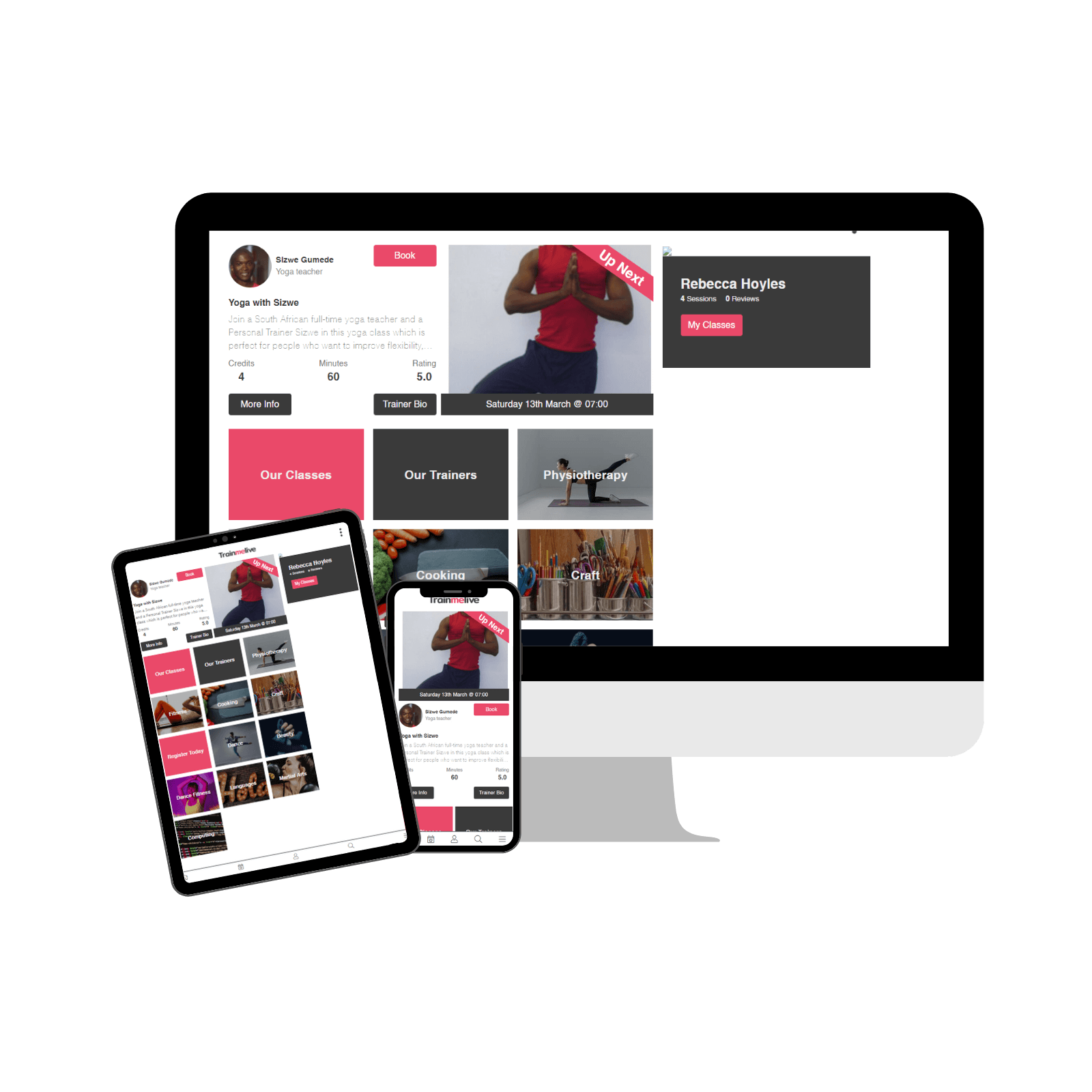 Train Me Live App and Website