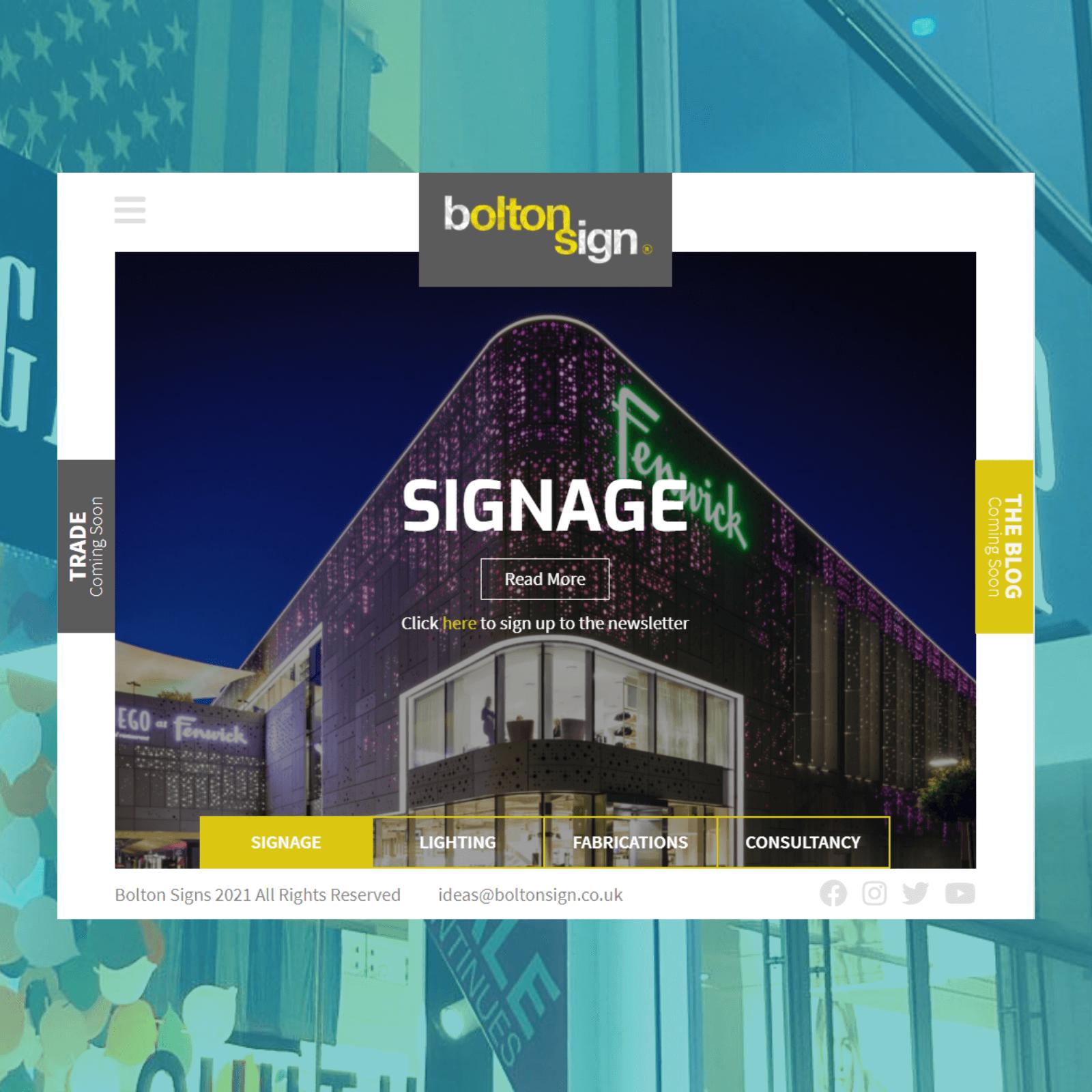 Bolton Sign