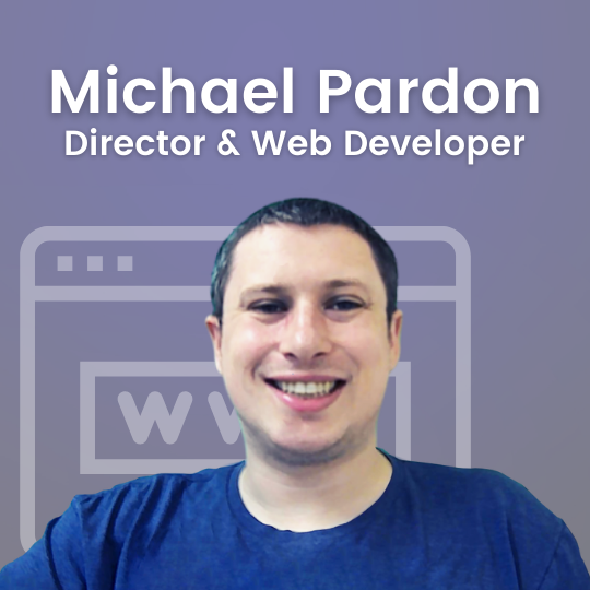 Michael Pardon - Web Developer